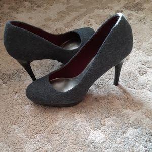 Christian Siriano classic grey pumps 7.5